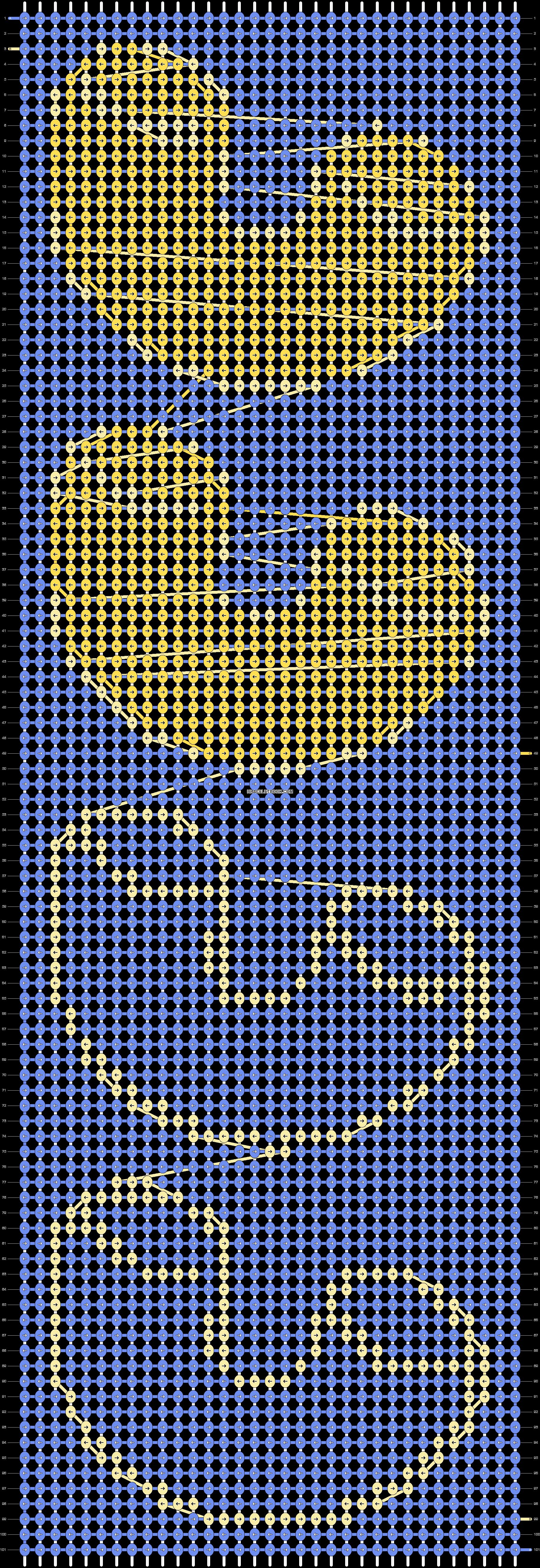 Alpha pattern #20436 pattern