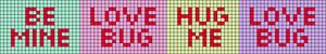 Alpha pattern #20437
