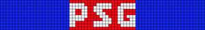 Alpha Friendship Bracelet Pattern #20440