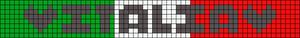 Alpha Friendship Bracelet Pattern #20442
