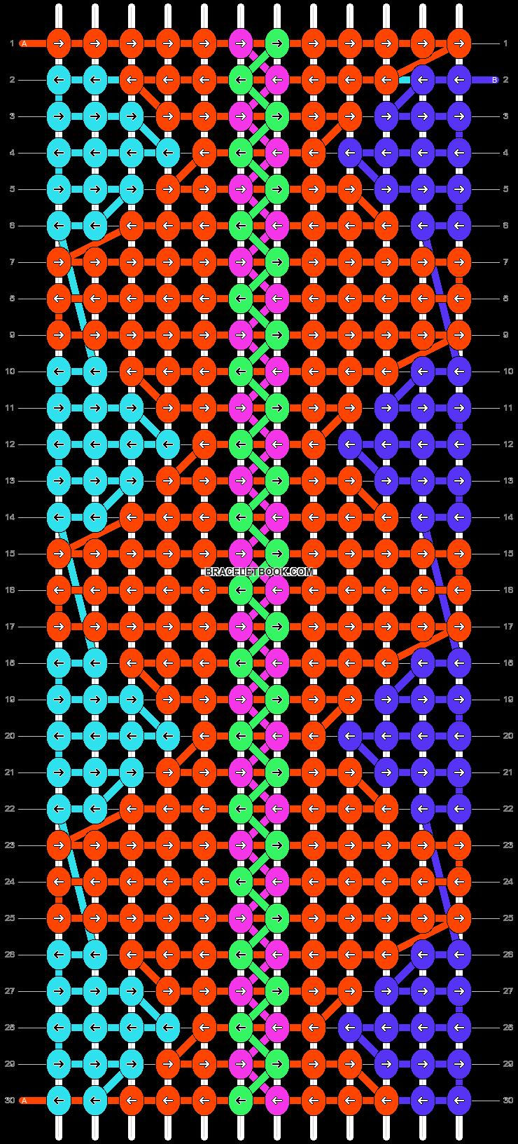 Alpha pattern #20446 pattern