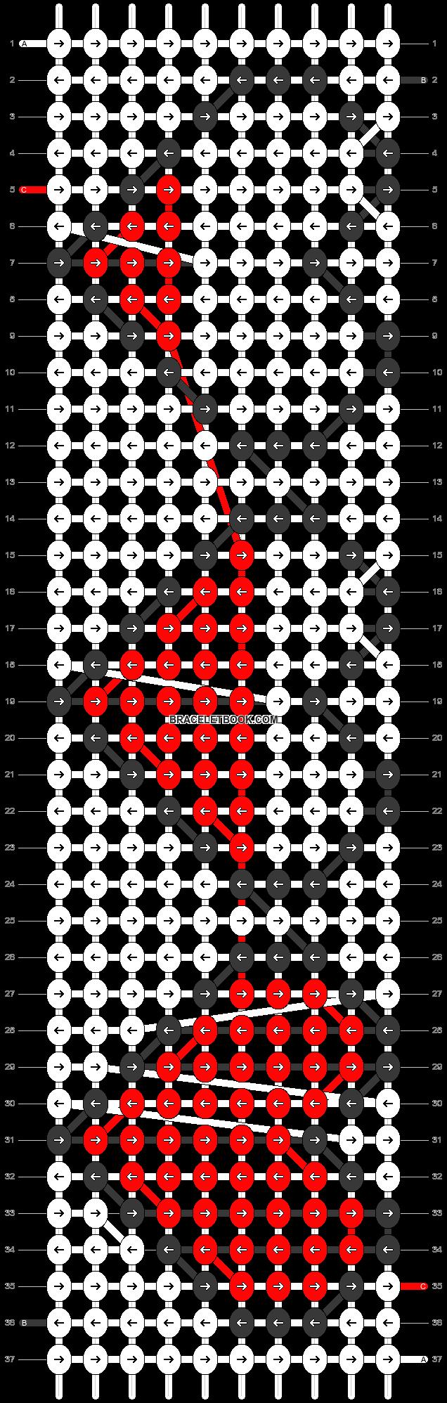 Alpha pattern #20451 pattern