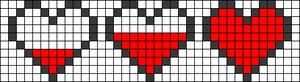 Alpha Friendship Bracelet Pattern #20451
