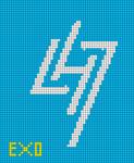 Alpha Friendship Bracelet Pattern #20452
