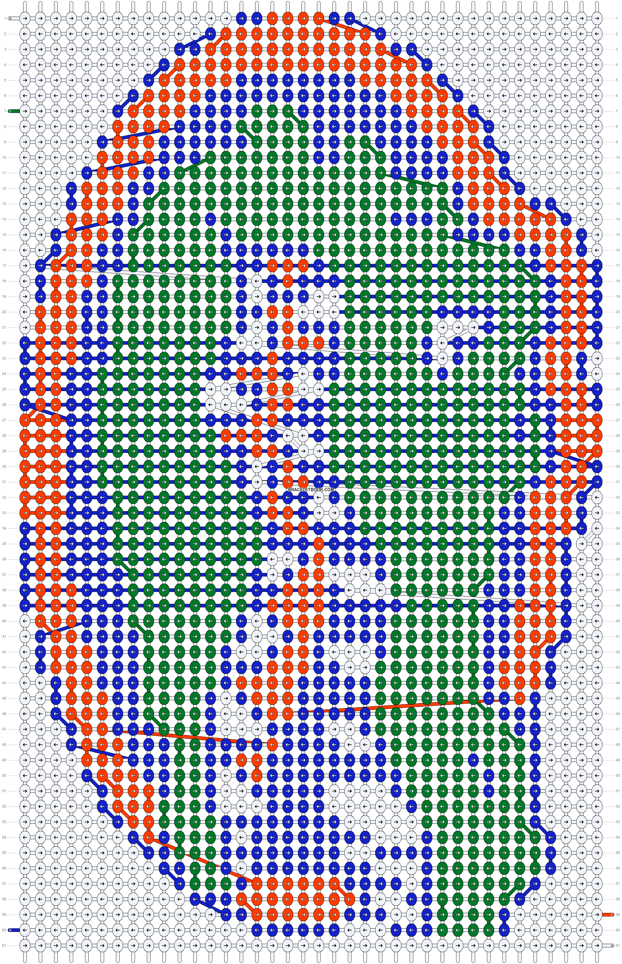 Alpha pattern #20453 pattern