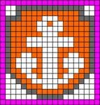 Alpha Friendship Bracelet Pattern #20455