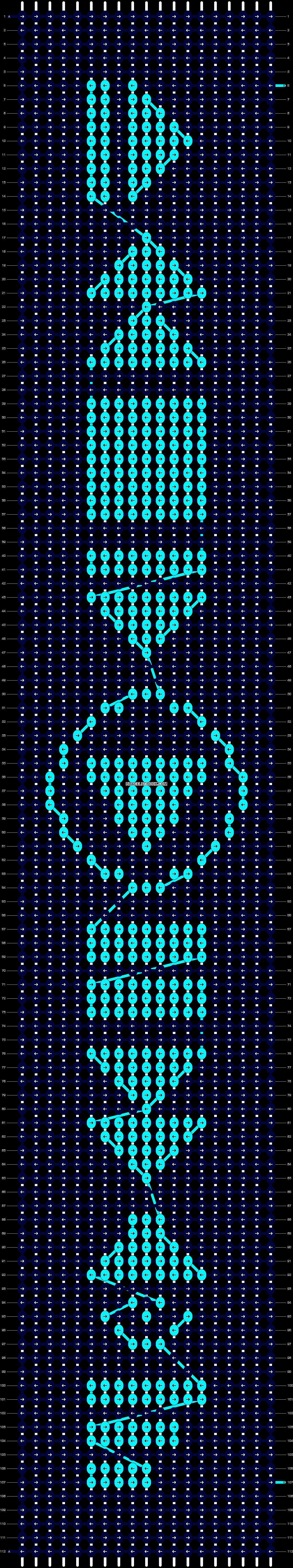 Alpha pattern #20456 pattern