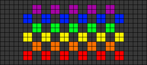 Alpha pattern #20457