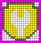 Alpha Friendship Bracelet Pattern #20460