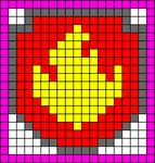 Alpha Friendship Bracelet Pattern #20461