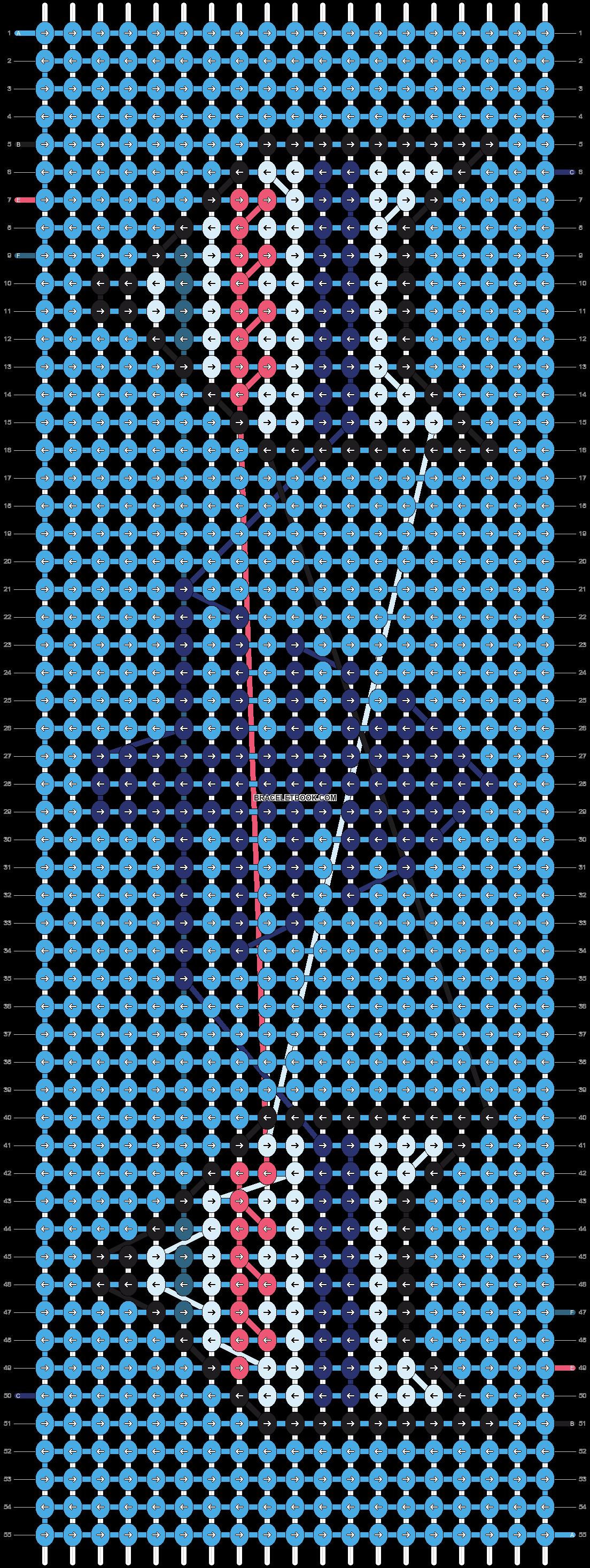Alpha pattern #20463 pattern