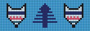Alpha pattern #20463