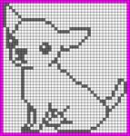 Alpha Friendship Bracelet Pattern #20466