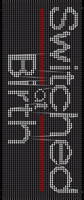 Alpha pattern #20468 pattern