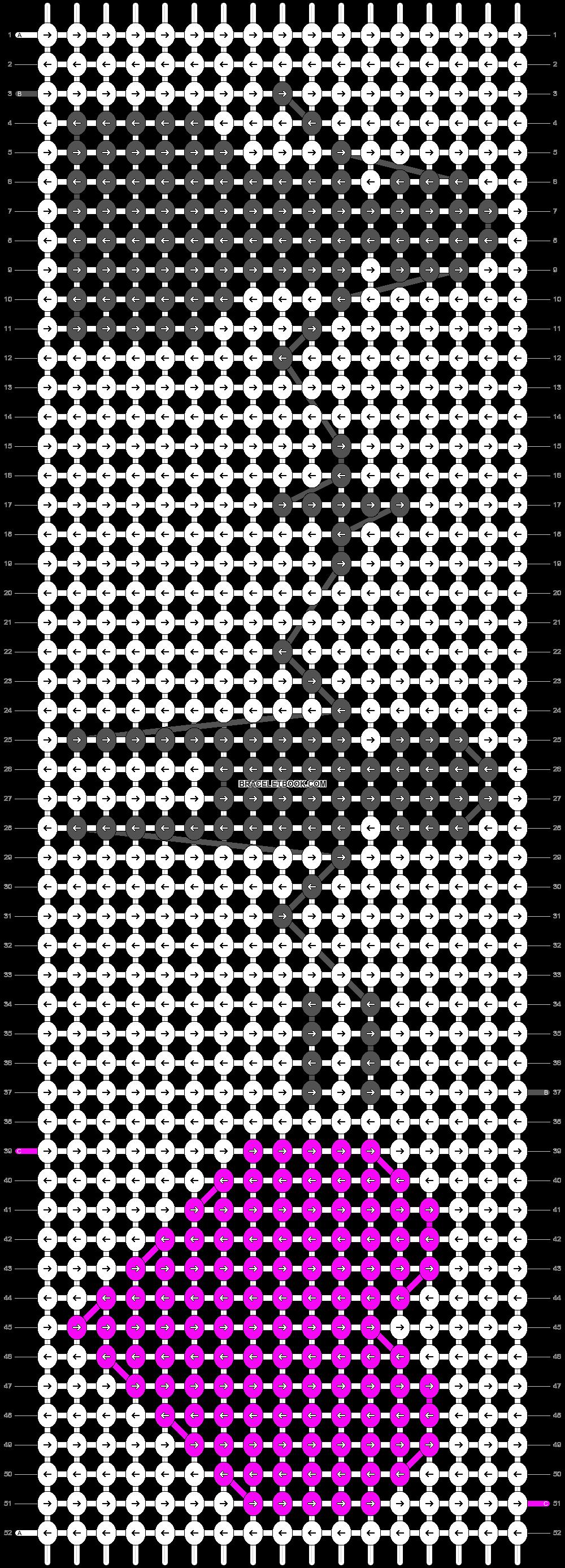 Alpha pattern #20469 pattern