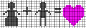 Alpha Friendship Bracelet Pattern #20469