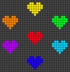Alpha Friendship Bracelet Pattern #20480