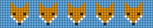 Alpha Friendship Bracelet Pattern #20483