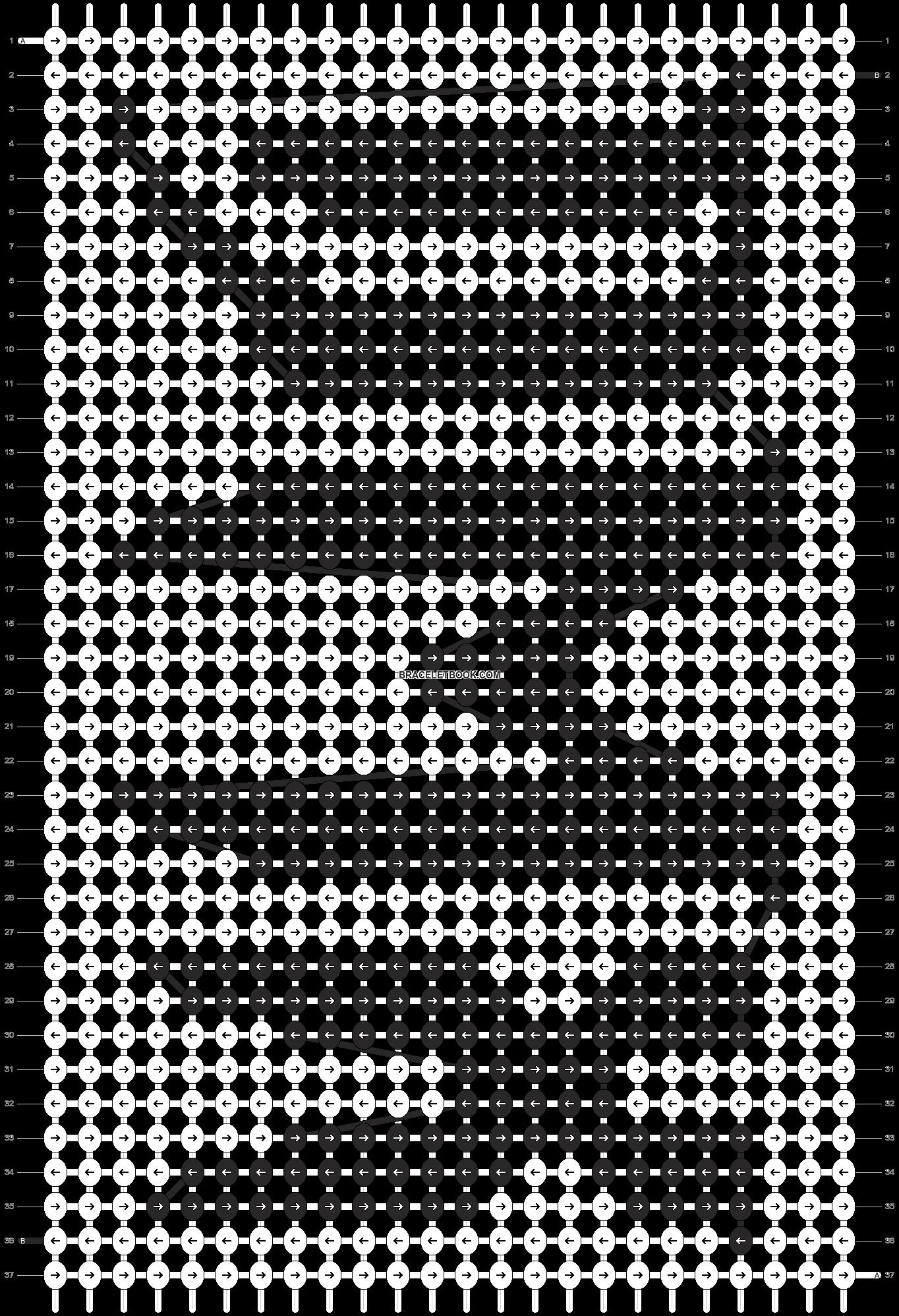 Alpha pattern #20485 pattern