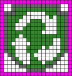 Alpha pattern #20486