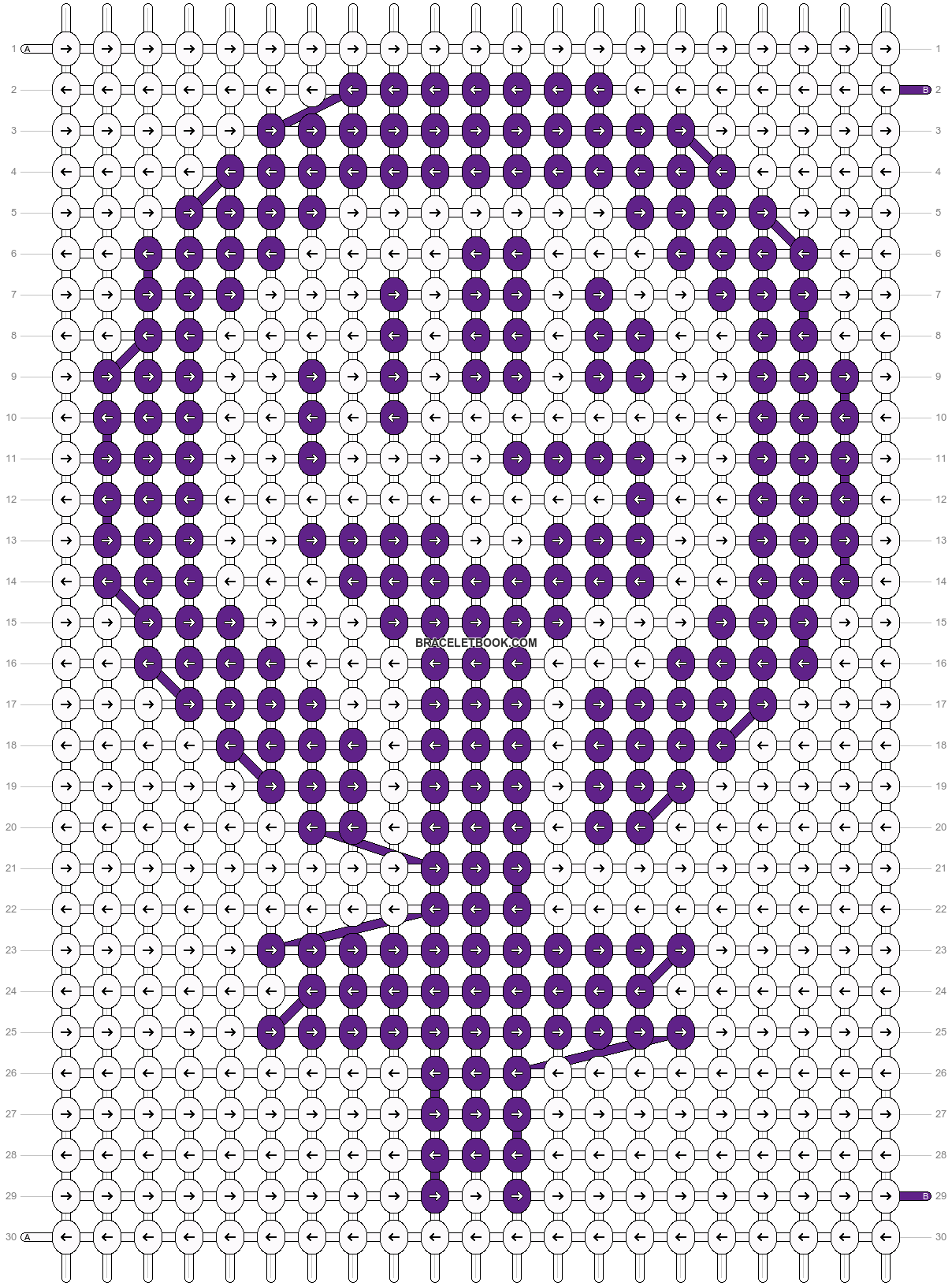 Alpha pattern #20489 pattern