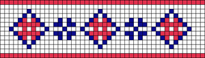 Alpha pattern #20490