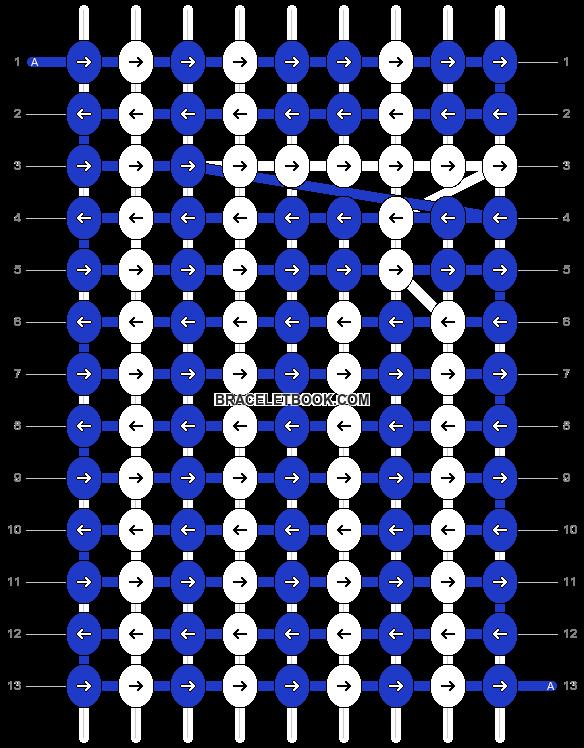 Alpha pattern #20494 pattern