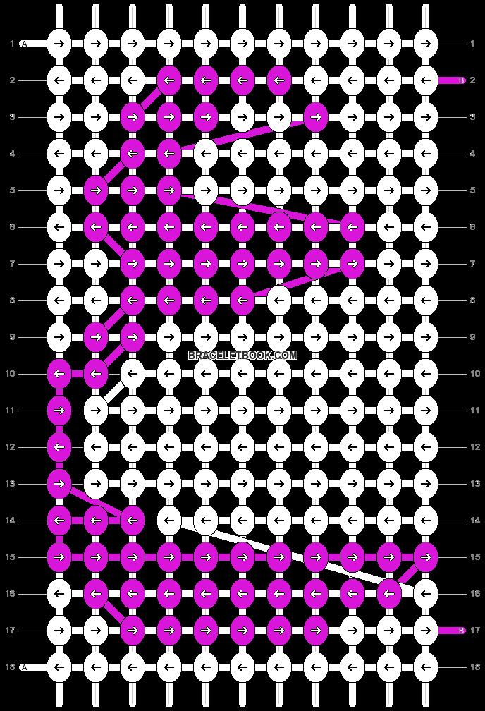 Alpha pattern #20497 pattern