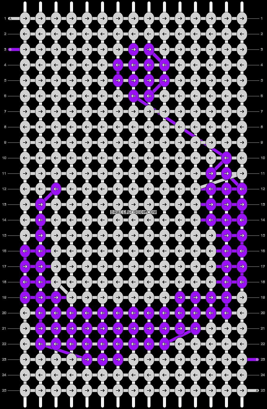 Alpha pattern #20505 pattern