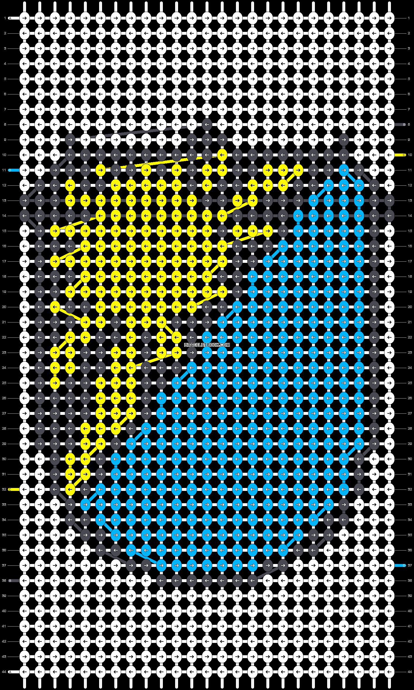 Alpha pattern #20506 pattern