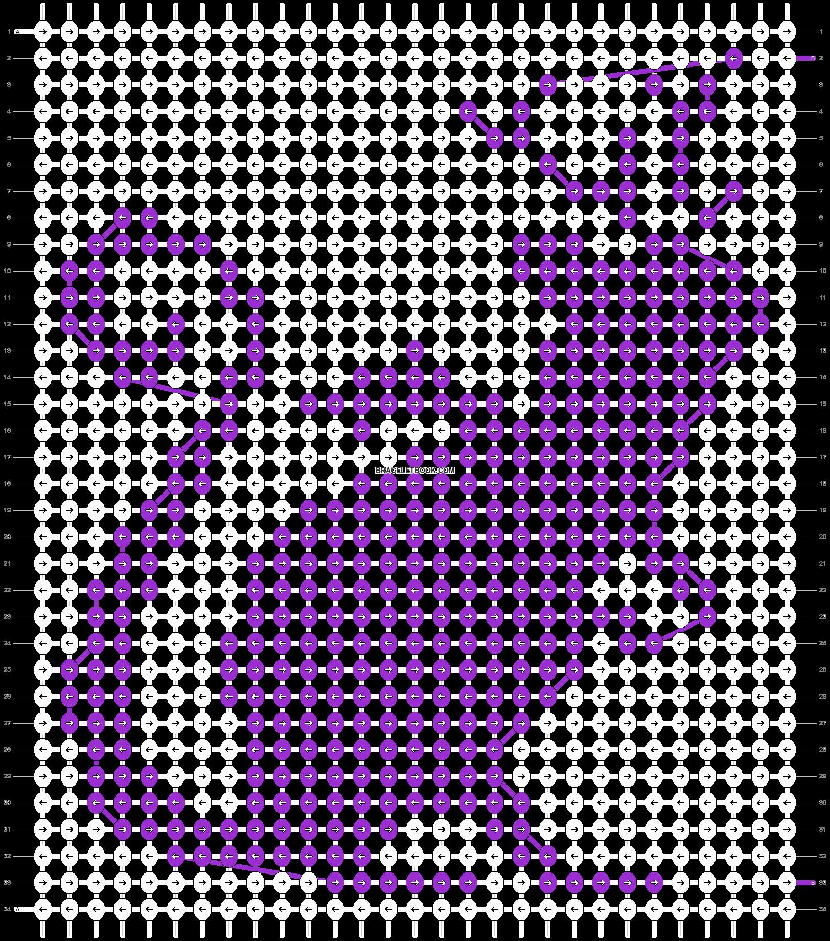 Alpha pattern #20509 pattern