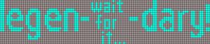Alpha pattern #20515