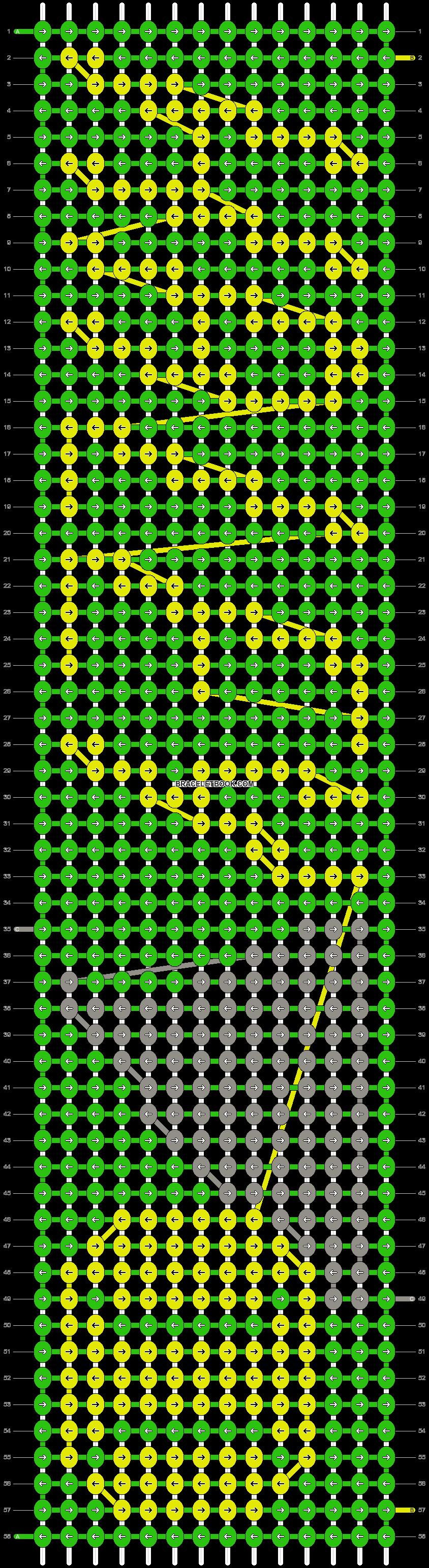 Alpha pattern #20517 pattern
