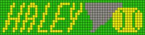 Alpha Friendship Bracelet Pattern #20517