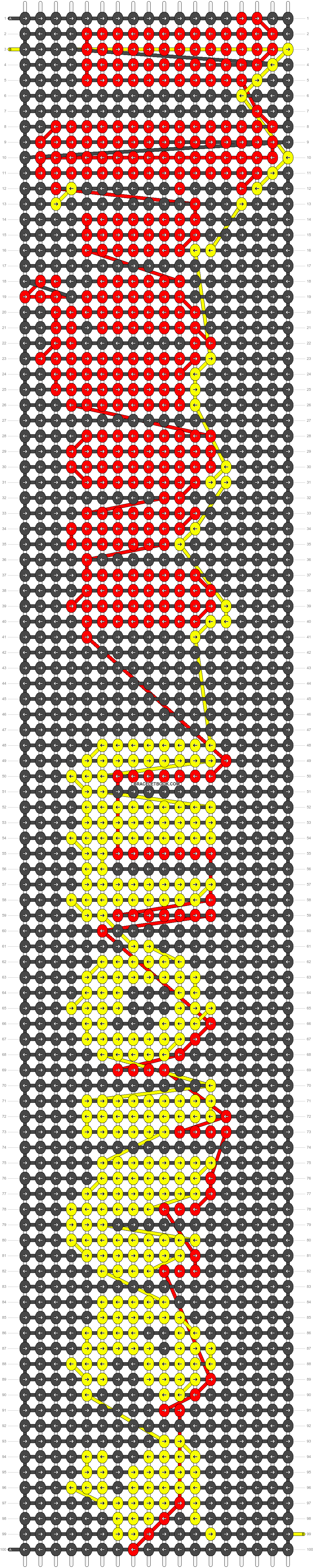Alpha pattern #20519 pattern