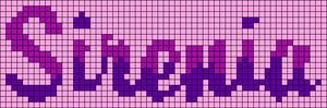 Alpha pattern #20521