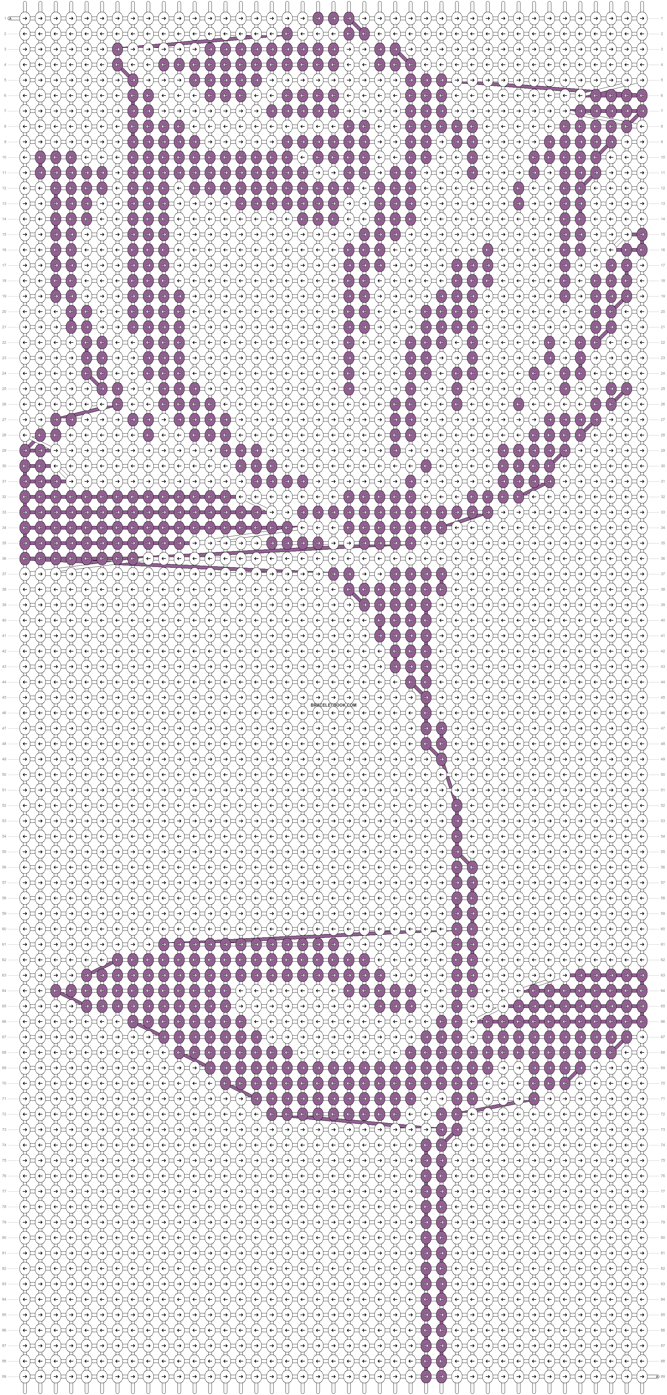 Alpha pattern #20528 pattern