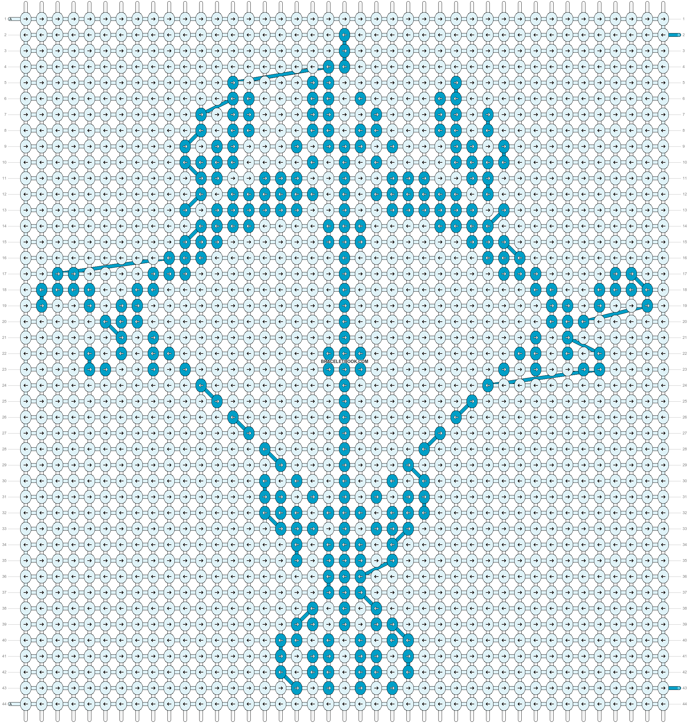 Alpha pattern #20532 pattern