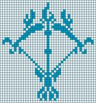 Alpha Friendship Bracelet Pattern #20532