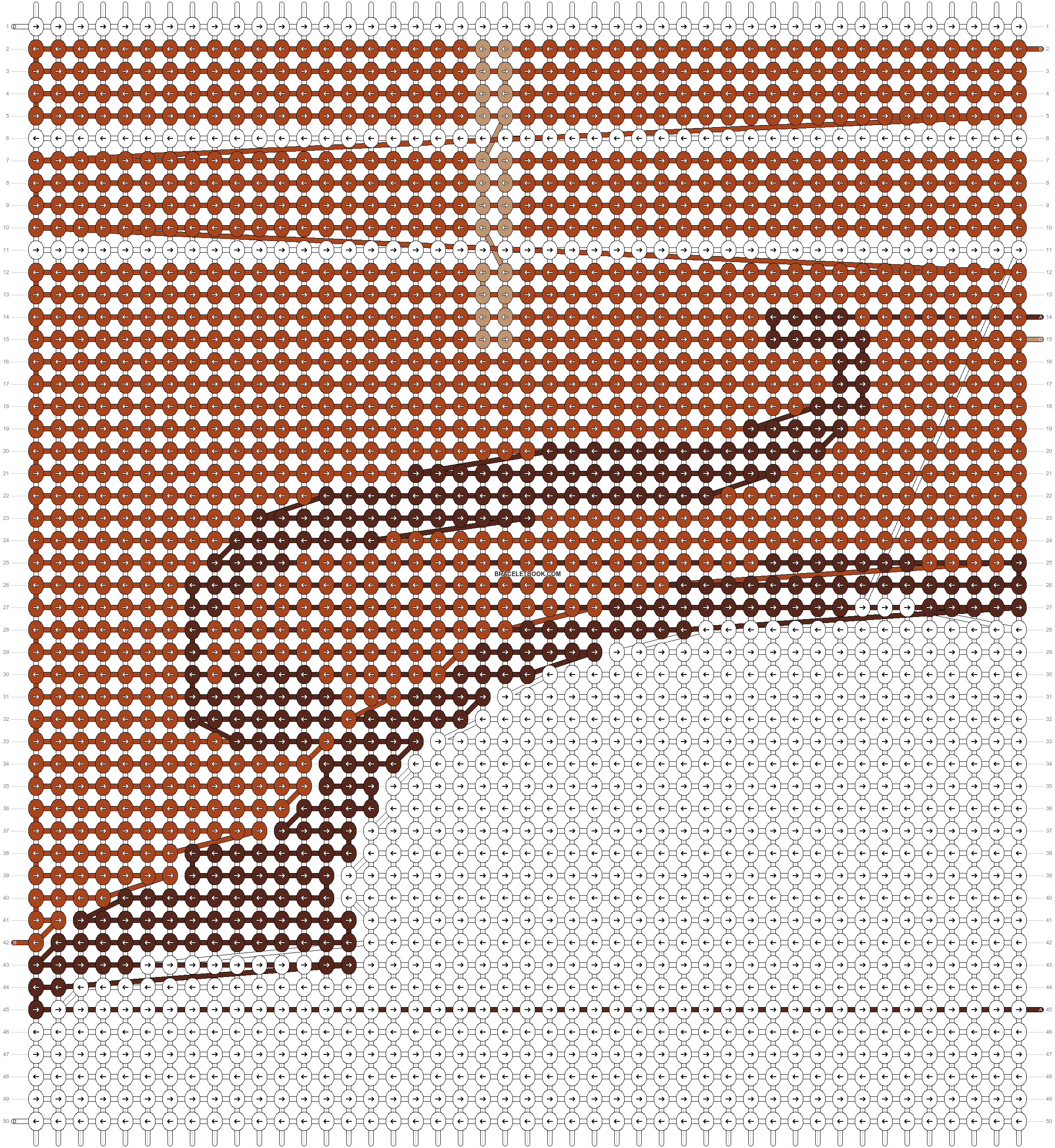 Alpha pattern #20536 pattern