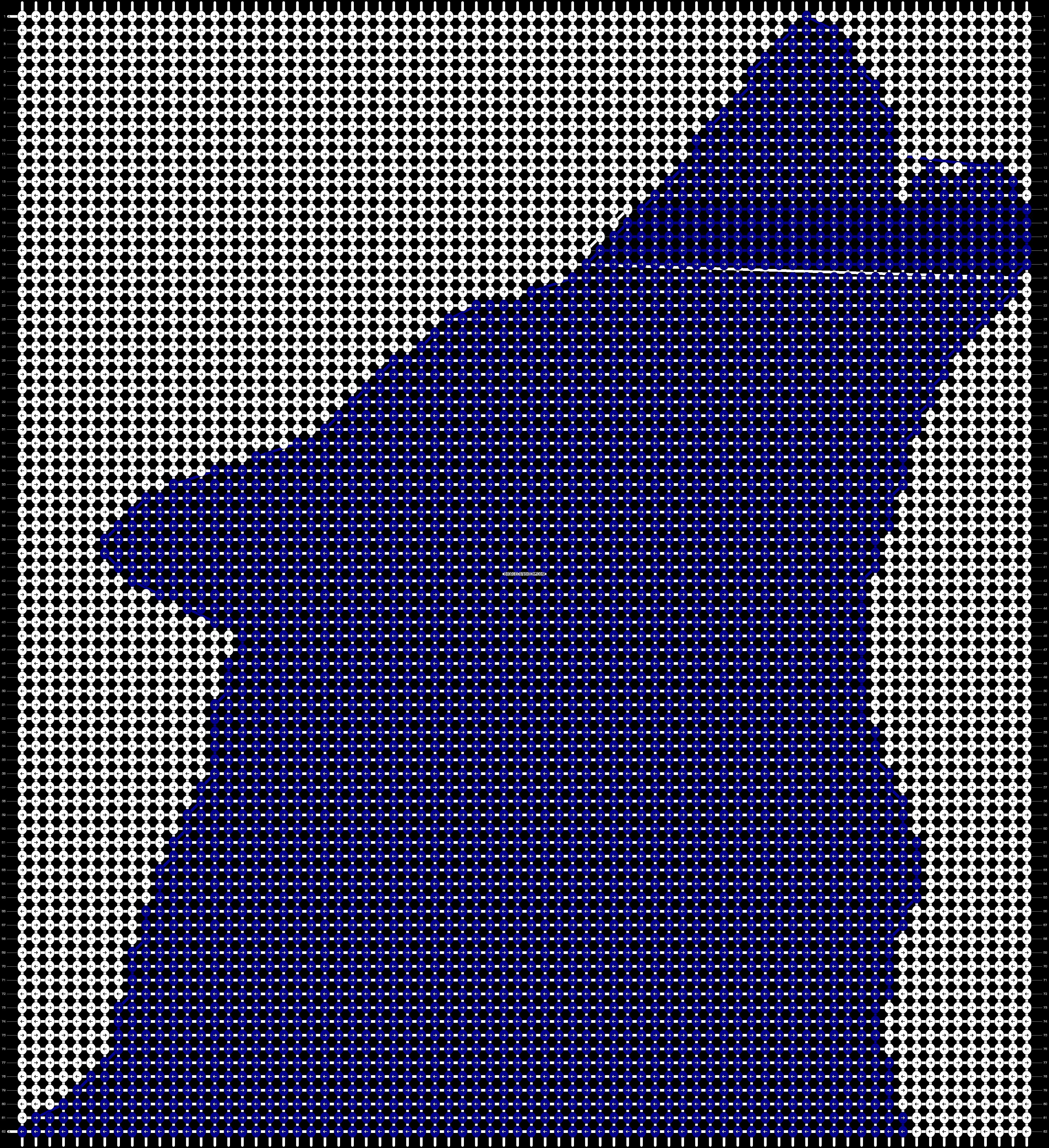 Alpha pattern #20543 pattern