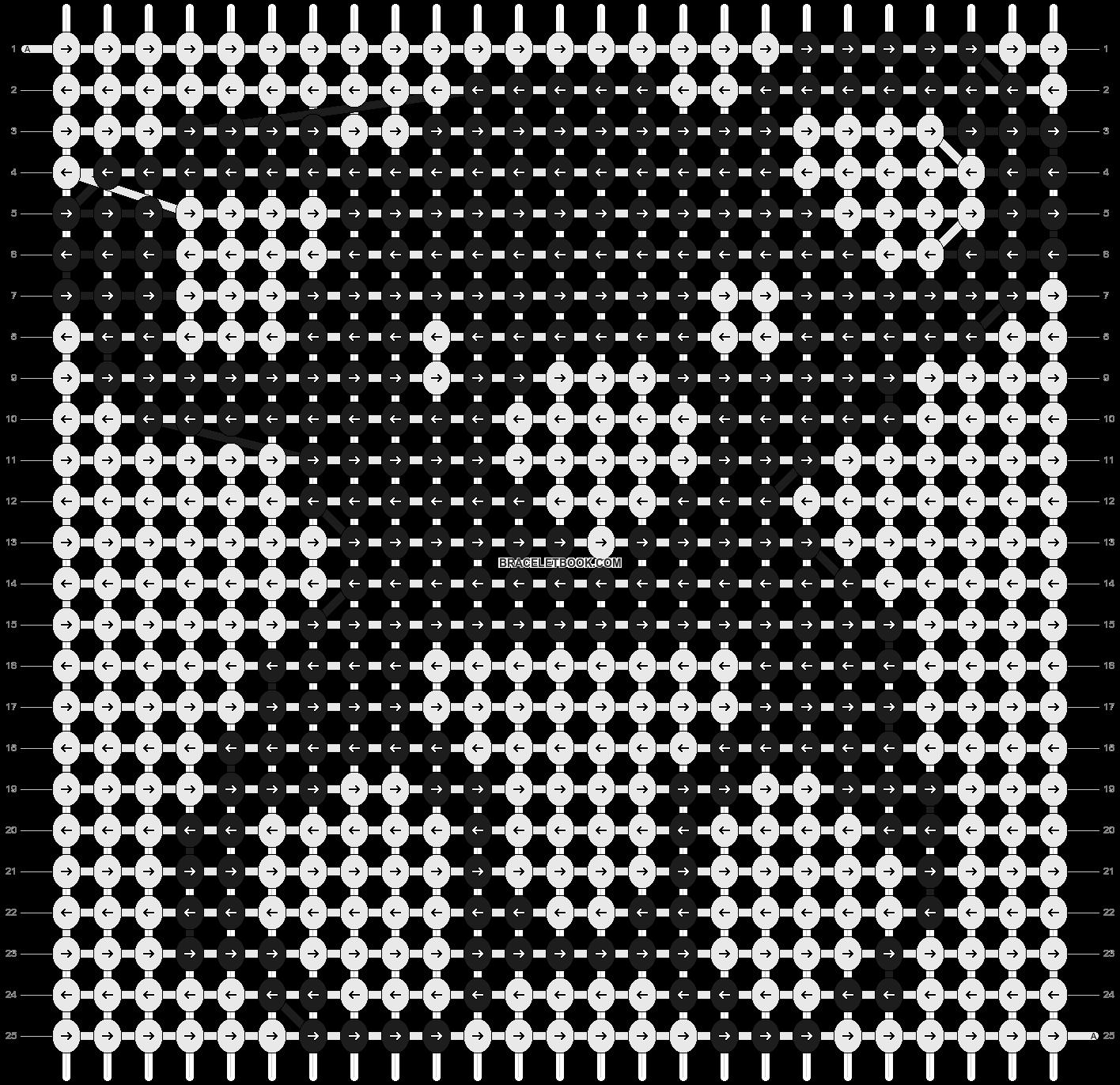 Alpha pattern #20544 pattern