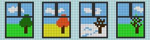 Alpha pattern #20545