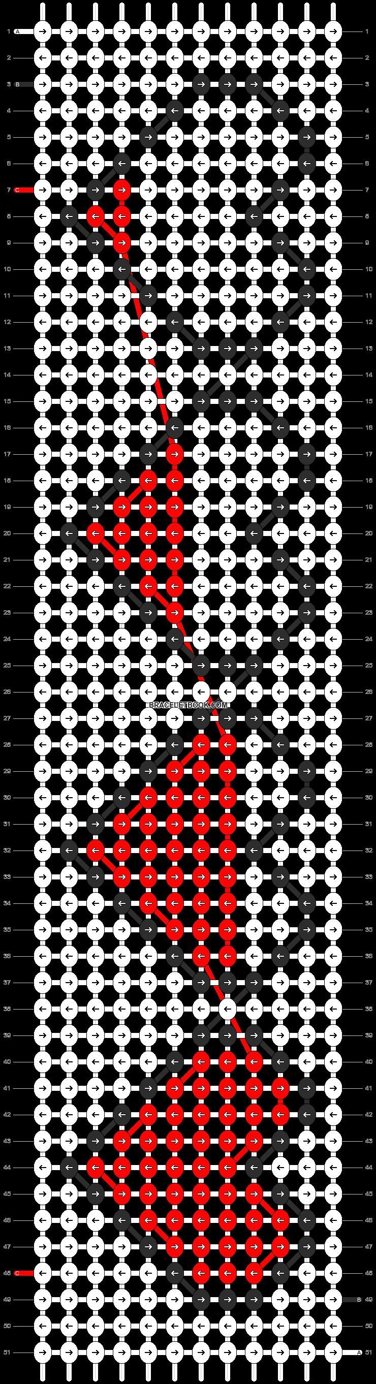 Alpha pattern #20563 pattern