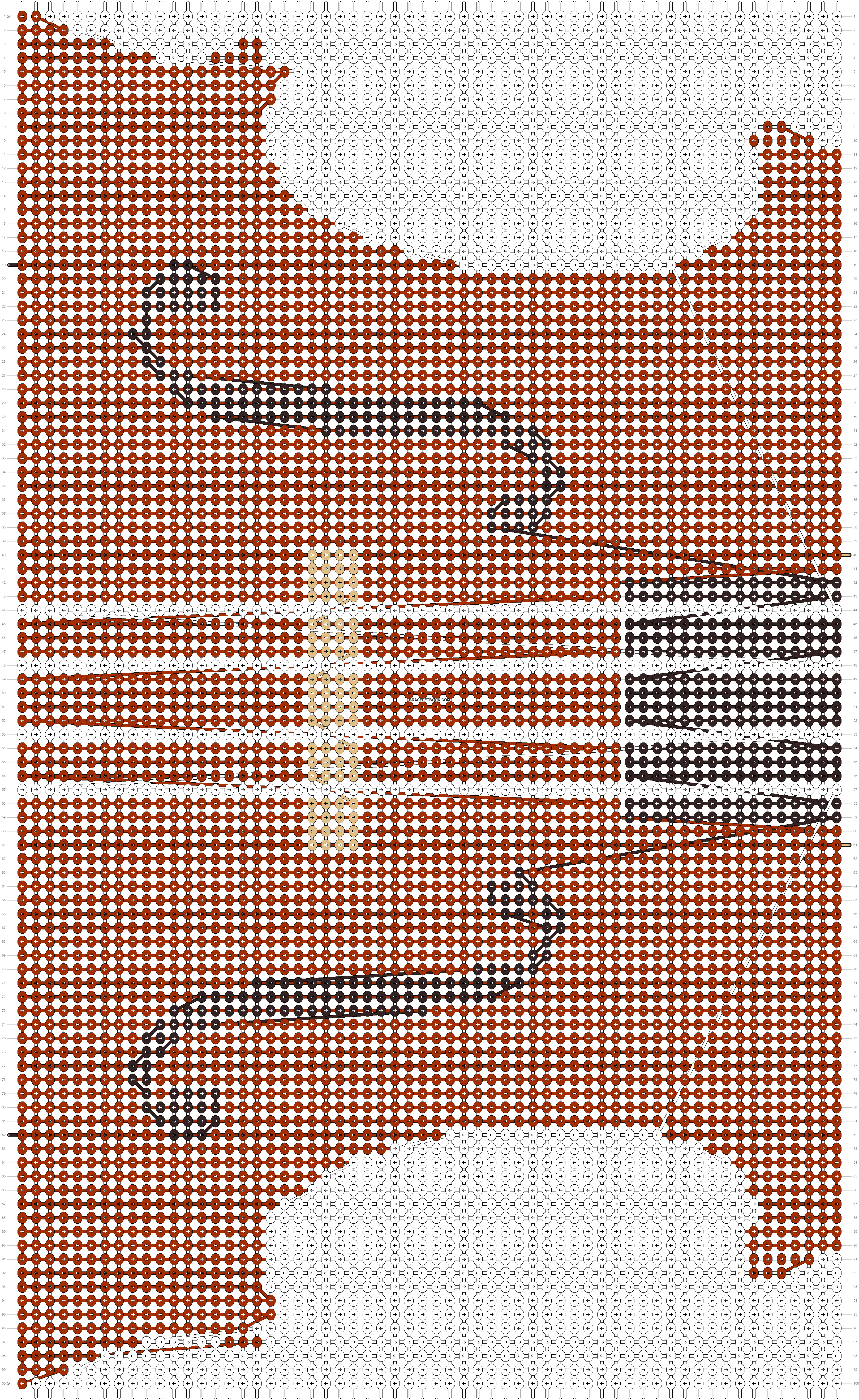 Alpha pattern #20567 pattern