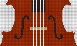 Alpha Friendship Bracelet Pattern #20567