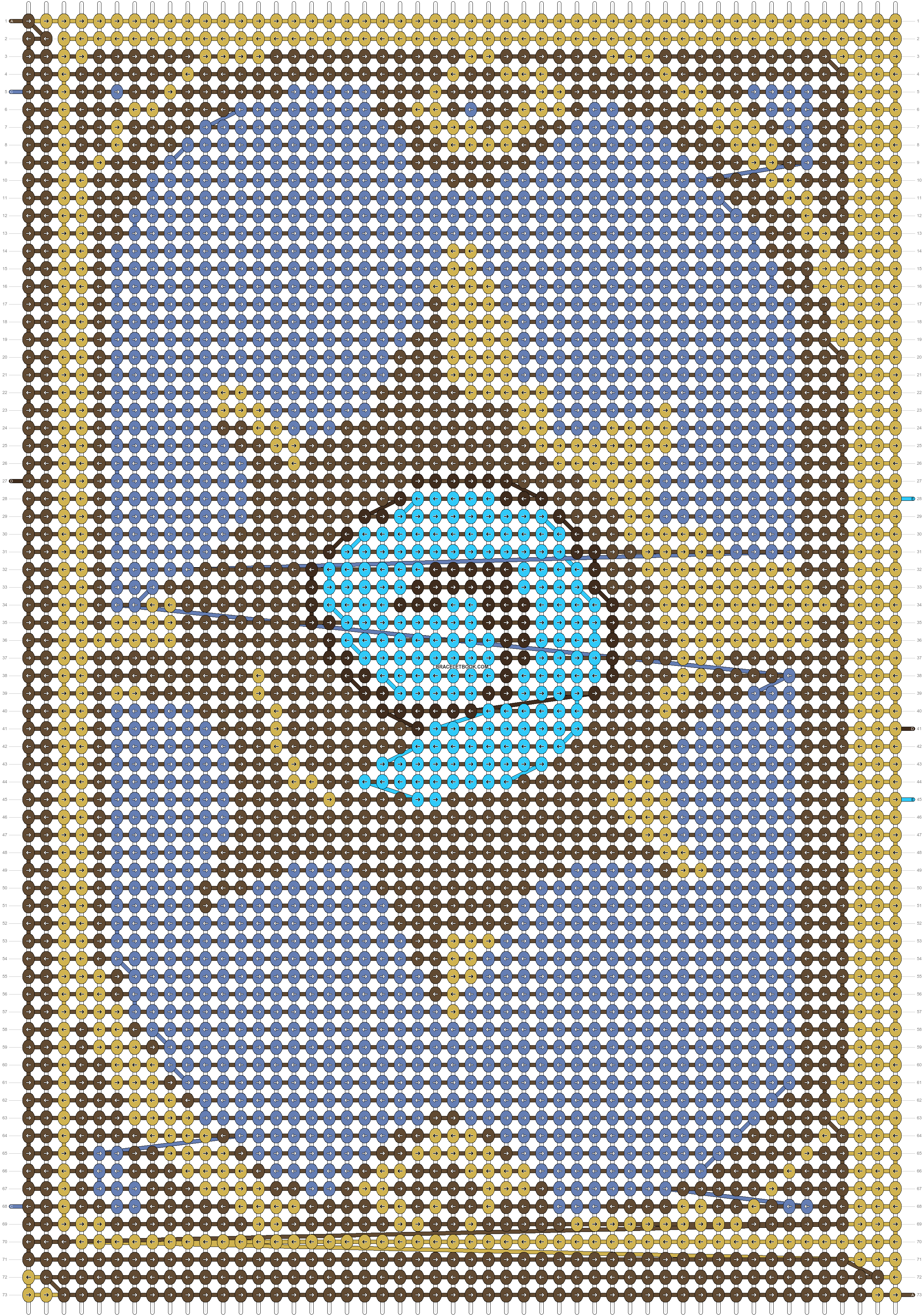 Alpha pattern #20580 pattern