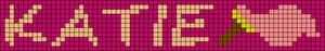 Alpha Friendship Bracelet Pattern #20581