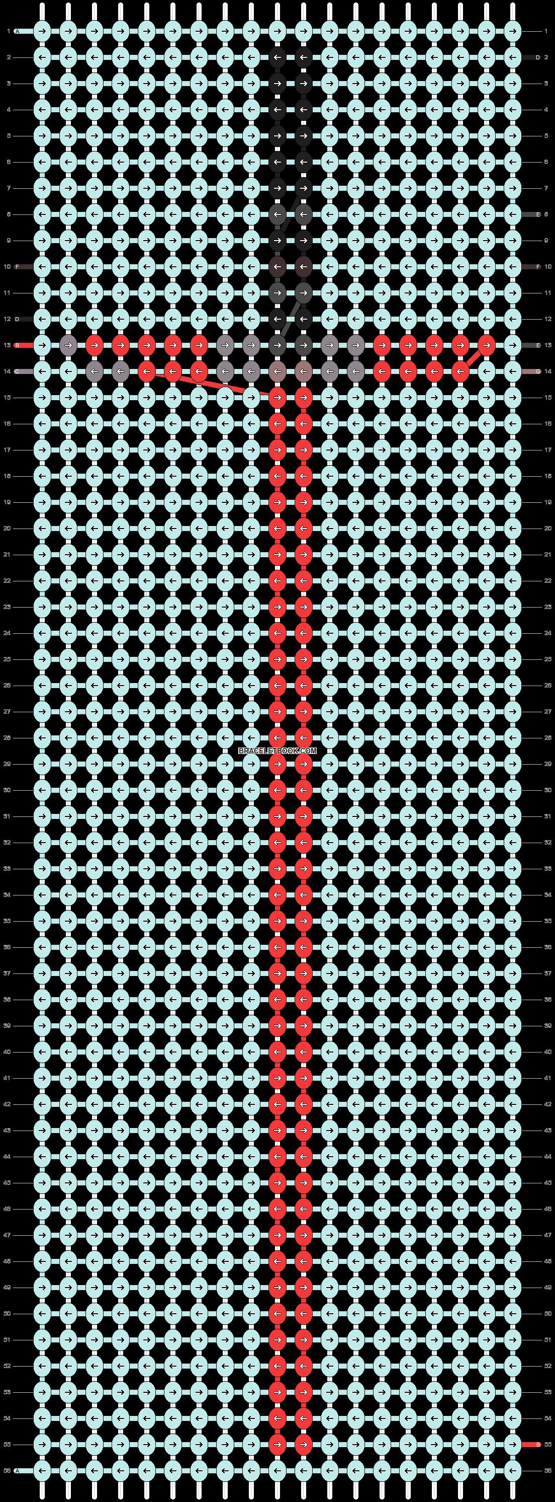 Alpha pattern #20582 pattern