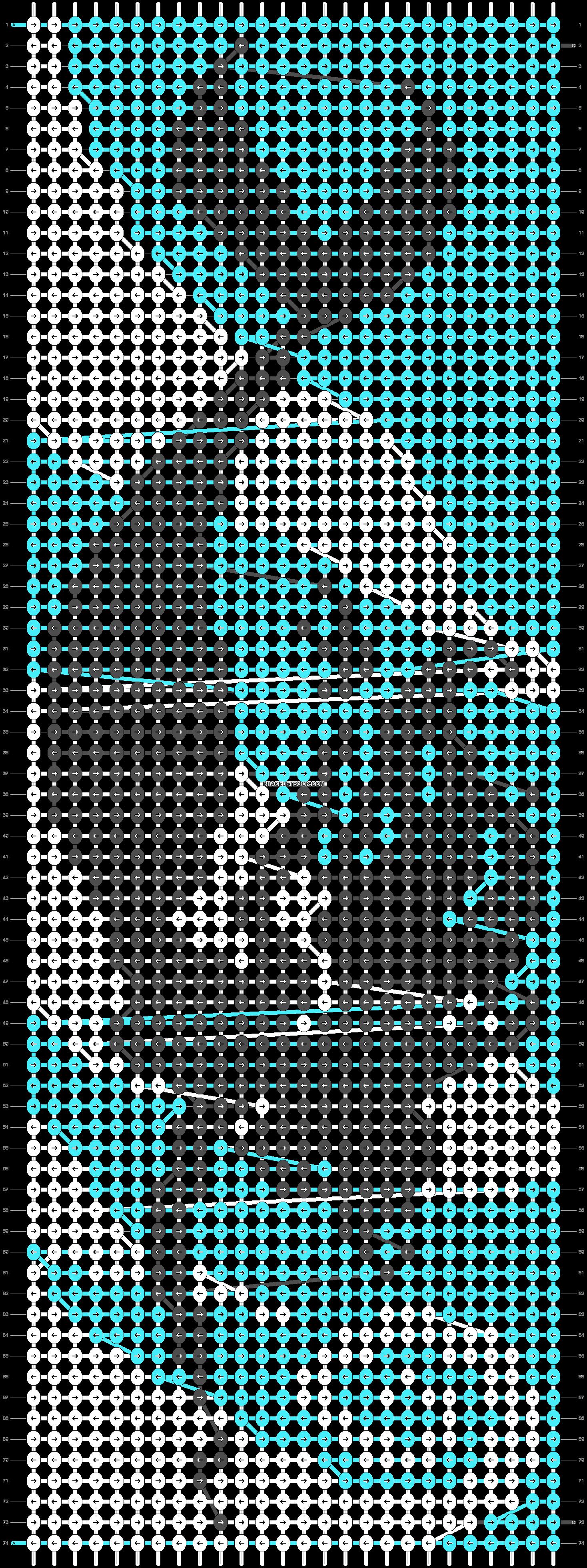 Alpha pattern #20584 pattern